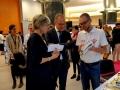 Prinses Laurentien en Tibor Navracsics met Jeroen de Boer