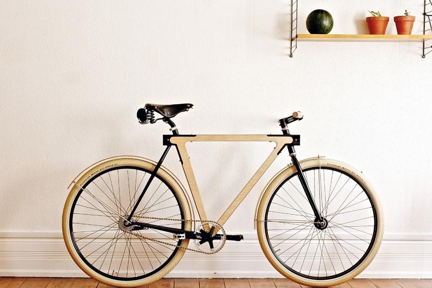 designfietsen van wood b rafelranden. Black Bedroom Furniture Sets. Home Design Ideas