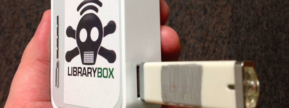 LibraryBox: piratendoos voor bibliotheken