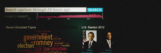 Internet Archive ontsluit 355.000 televisienieuwsitems