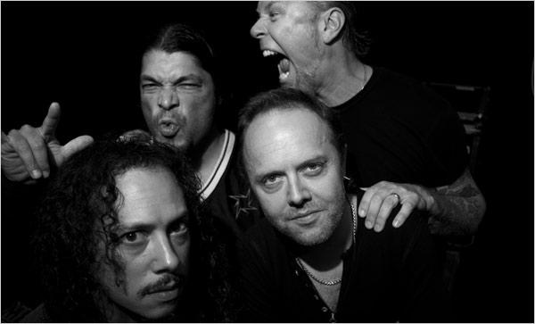 Best creepy, zo'n opgewekte Metallicasong