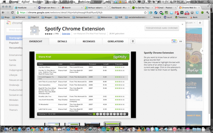 Spotify Chrome Extension