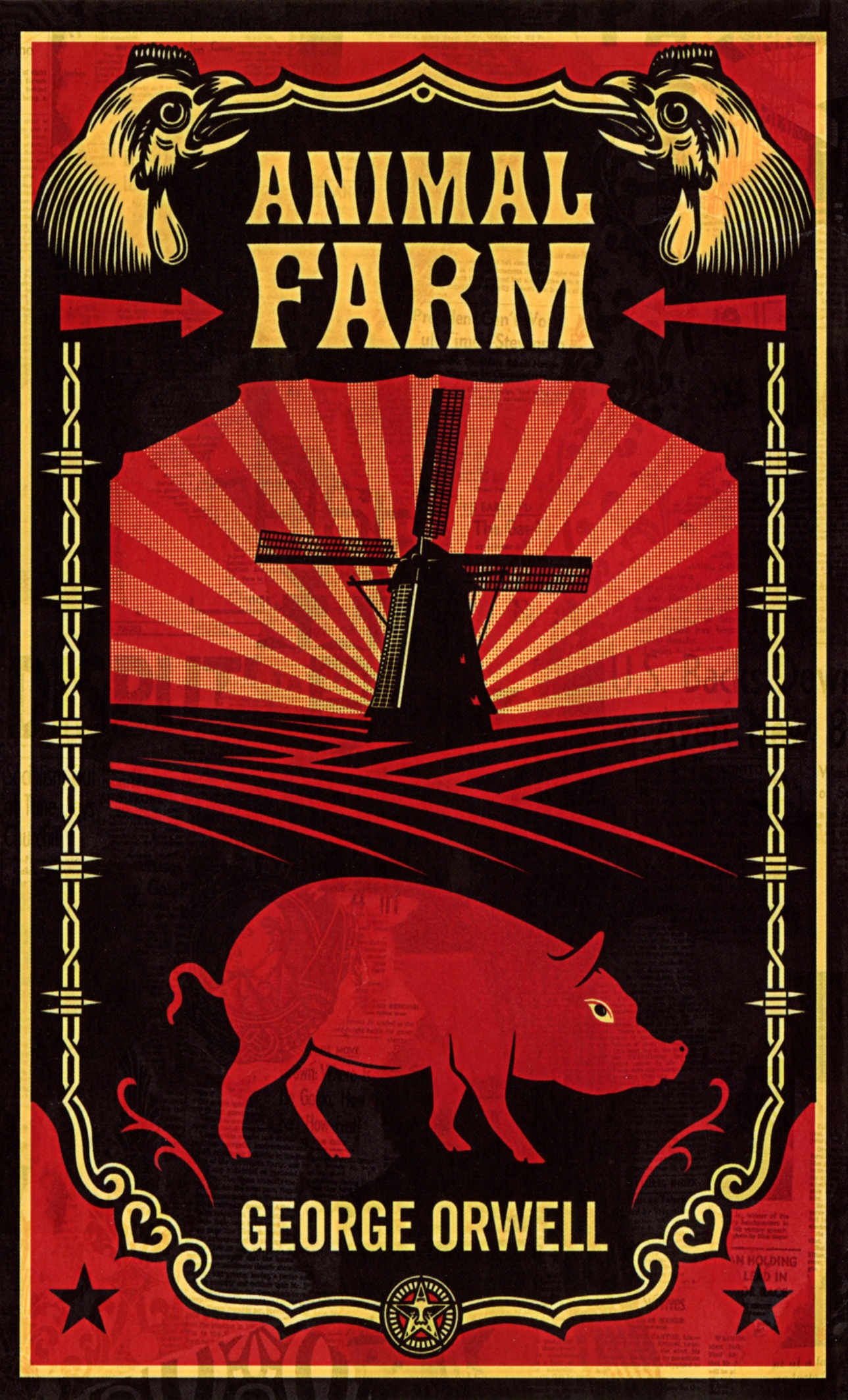Luister naar Animal Farm en 1984