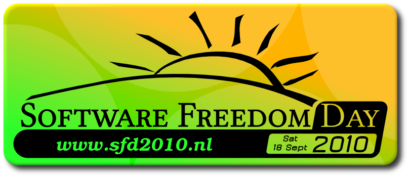 18 september is Software Freedom Day