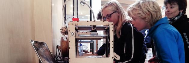Makerspaces veroveren Nederland, bibliotheek als makersplaats (artikel @IPnieuws)