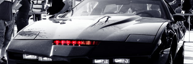 Home 187 design 187 logisch back to the future met knight rider intro
