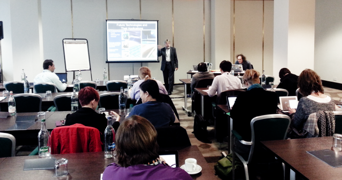 Workshop Future Technologies and Their Applications door Brian Kelly en Tony Hirst.