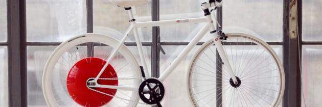 Copenhagen Wheel maakt je fiets slim