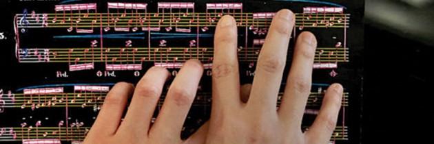 Dankzij 3D printing tastbare bladmuziek voor blinde musici