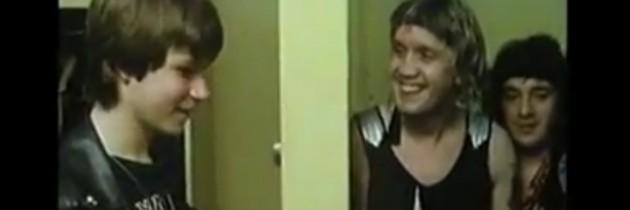 Tiener roadie voor een dag bij Iron Maiden (1986)