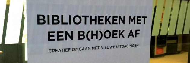 Bij Vlaamse collega's vertellen over bibliotheek en makersbeweging