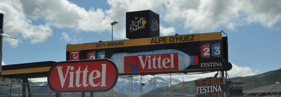 Alpe d'Huez uitsnede