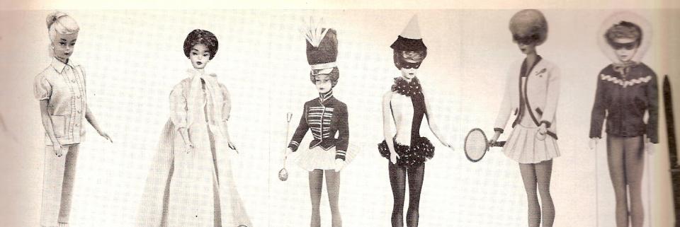 vintage barbie uitsnede