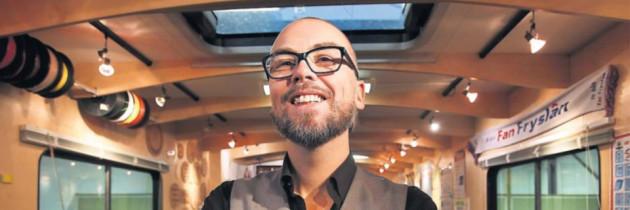 """Interview Leeuwarder Courant: """"Bibliothecaris is altijd onderweg"""""""