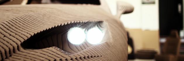 Hoe engineers een Lexus bouwen met karton, lasercutter, lijm én hun handen