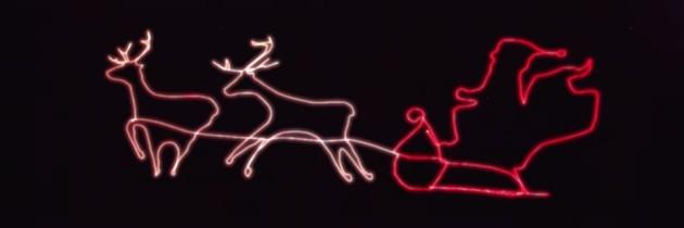 Waarom geen drone voor de kerstversiering gebruiken?