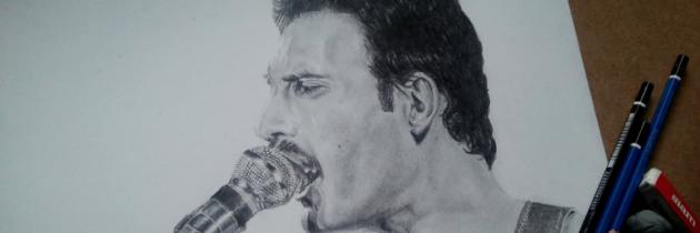 Prachtige solovertolking 'We Are The Champions' door Freddie Mercury