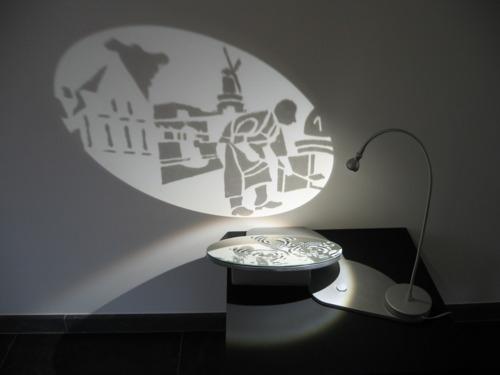 Spelen met licht tot een kunst verheffen rafelranden